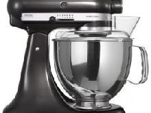 Kitchenaid Artisan 5KSM150PS 4,8 L Robot sur socle à tête inclinable diamant noir