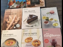 Lot de livres thermomix tm5