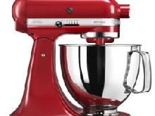 KitchenAid Artisan 5KSM125EER - Robot pâtissier - 300 Watt - rouge empire