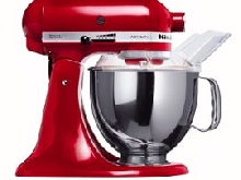 KitchenAid Artisan 5KSM150PSEER - Robot pâtissier - 300 Watt - rouge empire