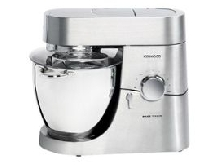 Kenwood Major Titanium KMY90 - Robot multi-fonctions - 1500 Watt - métal brossé