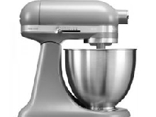 KitchenAid Mini 5KSM3311XEFG - Robot pâtissier - 250 Watt - gris graphite