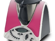 STICKER AUTOCOLLANT DECORATIF PINK ROSE POUR VORWERCK THERMOMIX TM31