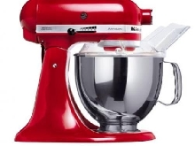 KITCHENAID ARTISAN 5KSM150PSEER - ROBOT MÉNAGER - ROUGE