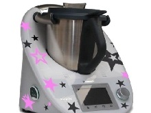 Autocollants pour le Thermomix TM5 ? Étoile Wolke Anthracite Rose