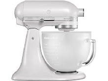 KitchenAid - 5KSM156EFP - Robot Multifonction, 300 watts, Blanc