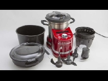 Kitchenaid Cook Processor Artisan rouge état neuf