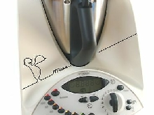 Grafix Autocollants pour Thermomix TM31 Motif symbole menu