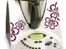 Grafix TM31 Autocollants pour Thermomix - Bordeaux
