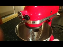 KITCHENAID 5KSM125EER Robot pâtissier Artisan - Rouge empire