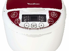 Moulinex MK705111 Multicuiseur Traditionnel 12-en-1 Rouge 5 L