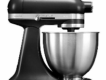 KitchenAid Mini Food Processor (Black, Stainless Steel, 50/60 Hz)