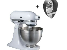 PACK : KITCHENAID BUNKITWHJE Robot patissier + Presse-agrumes offert