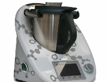 Autocollants pour le Thermomix TM5 ? DNA Structure Gris argenté