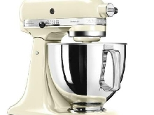 KITCHENAID 5KSM125EAC Robot patissier multifonction - 300W - 4.8 L - Creme
