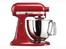 Robot Pâtissier Kitchenaid 5KSM125EER au Coloris Rouge Empire