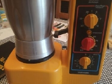 Robot mixer blender  Thermomix  TM3000 de Vorwerk - TM 3000 Vintage orange  TBE