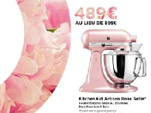 Vente France ?? | KitchenAid Artisan Rose Satin 5KSM175SEESP Special Edition