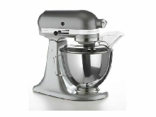 KITCHENAID Robot Multifonctions 300W Inox Bol 4,3L  Batteur plat Tête inclinable