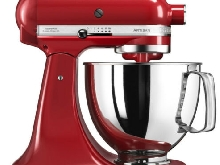 robot sur socle 4,83l 300w rouge empire - kitchenaid