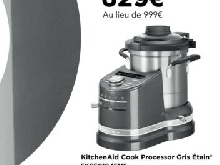 KitchenAid Cook Processor | Gris Etain