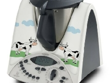 STICKER AUTOCOLLANT DECORATIF CARTOON VACHES POUR VORWERCK THERMOMIX