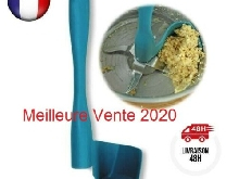 Lot de 5 Spatules Tournantes Rotatives ou Cuillères Thermomix KitchenAid Bleue