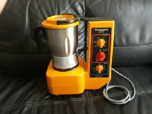 Thermomix 3000 Robot Chauffant Orange Vintage