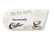 Vorwerk Thermomix TM5 | Sticker Autocollant Cook-Key Coffee Time