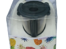HOUSSE DE PROTECTION POUR THERMOMIX TM6/TM5/TM31 Sans Varoma Transparente Ananas