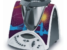 STICKER AUTOCOLLANT DECORATIF TOWER BRIDGE LONDRES POUR VORWERCK THERMOMIX TM31