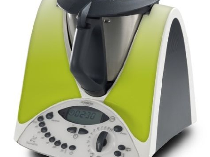 STICKER AUTOCOLLANT DECORATIF VERT ANIS POUR VORWERCK THERMOMIX TM31