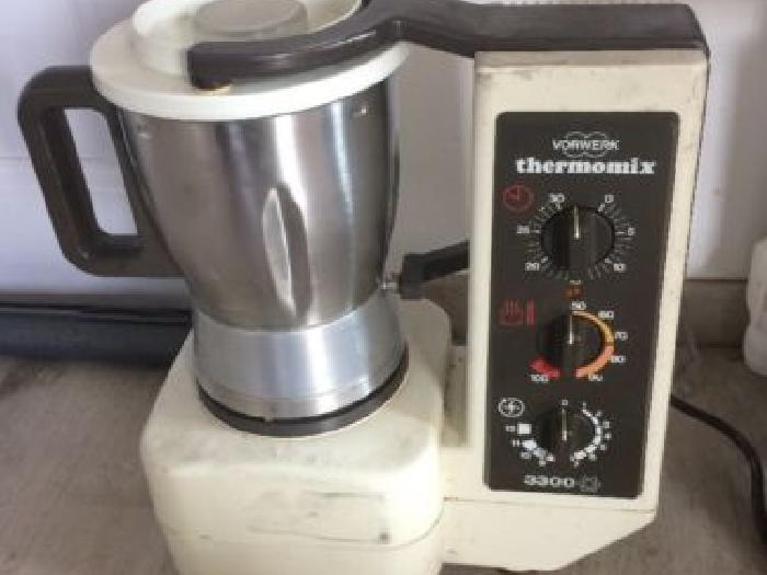 ancien robot thermomix vorwerk 3300 année 90 vintage cuisine | momix