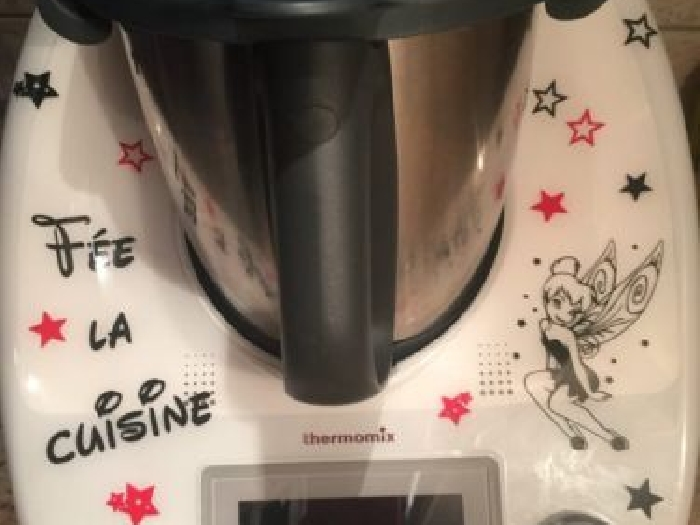 Stickers thermomix TM5 fée clochette (3)