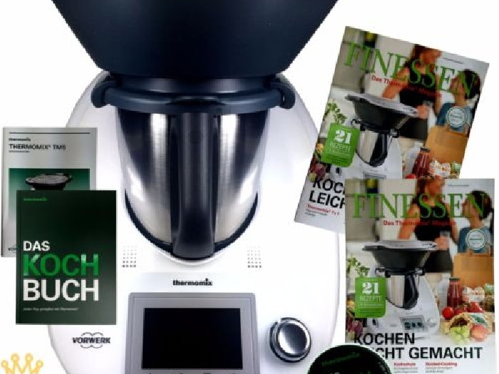 vorwerk thermomix tm5 sale varoma kochbuch chip rezepte buch neu tm 5 ovp momix annonce. Black Bedroom Furniture Sets. Home Design Ideas