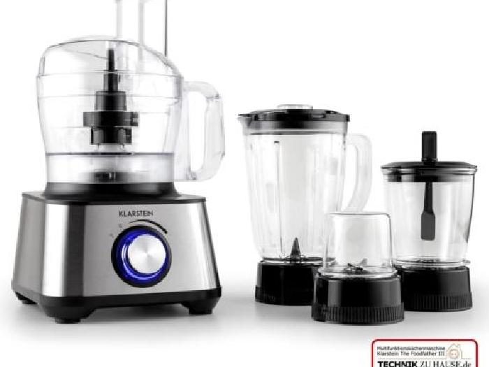 Occasion robot de cuisine multifonction klarstein mixeur for Robot mixeur cuisine