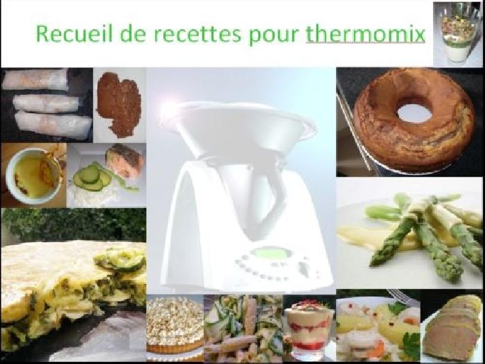 Recettes de cuisine avec photos adapt es pour thermomix produit original mo - Thermomix 3300 recettes ...