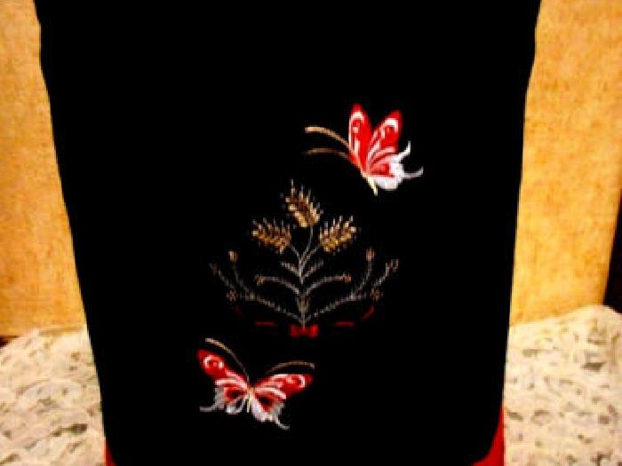housse pr thermomix tm 5 ou magimix gelato brodee papillons anti tache doublee momix annonce. Black Bedroom Furniture Sets. Home Design Ideas